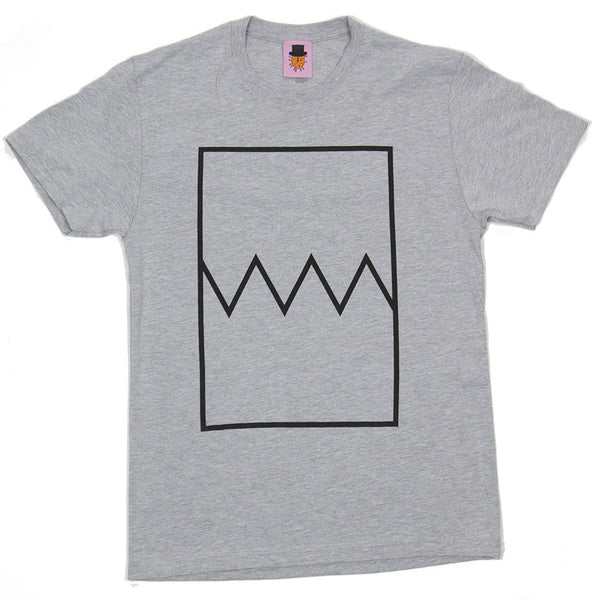 Worst Manners Logo - Heather Grey