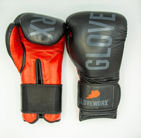 GWX Classic Gloves - Black/Red Model 10oz.