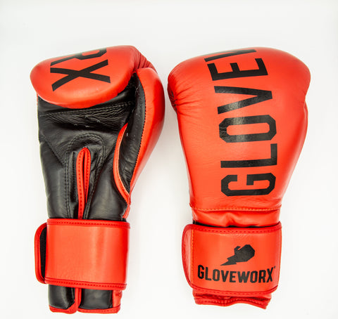 GWX Classic Gloves - Red/Black Model 10oz
