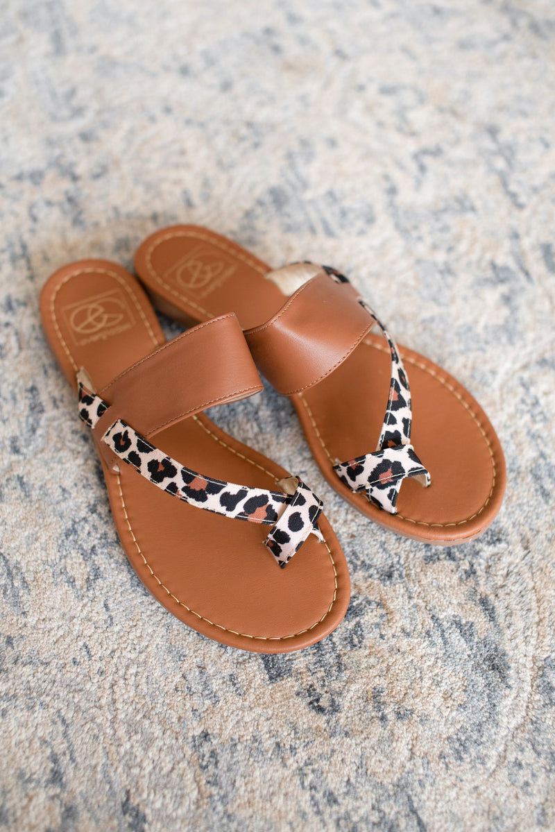 The Cassidy Leopard Sandals