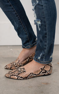 Desert Snakeskin Shoes - Essential Southern Charm