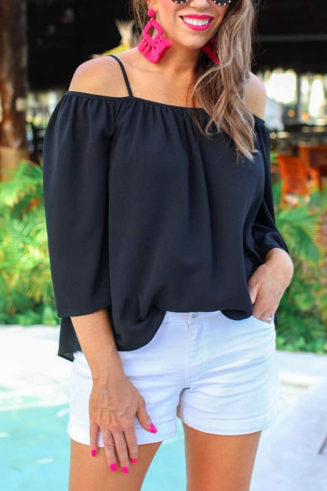 The Charlotte Top - Black