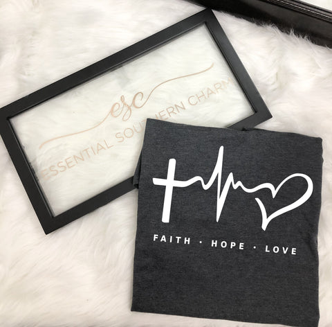 Faith Hope Love Graphic Tee