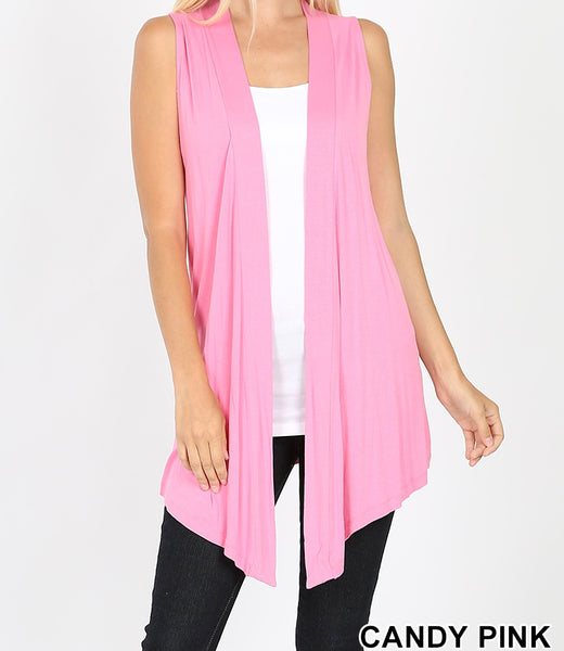 The Ellen Cardigan - Candy Pink