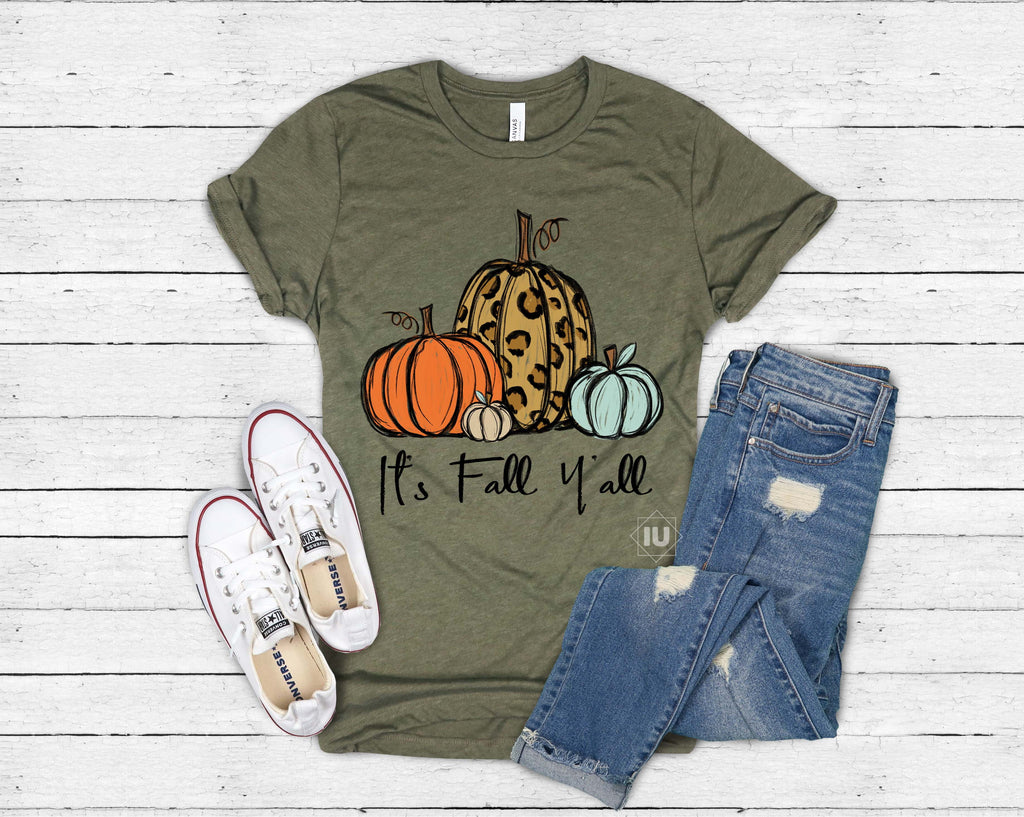It's Fall Y'all! Graphic Tee - Essential Southern Charm