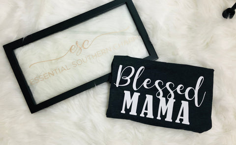 Blessed Mama Graphic Tee