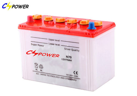 CS Power DIN/JIS Dry Charged Auto Battery