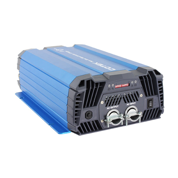 Cotek SC-1200 (1200W) High Frequency Pure Sine Wave Inverter / Charger