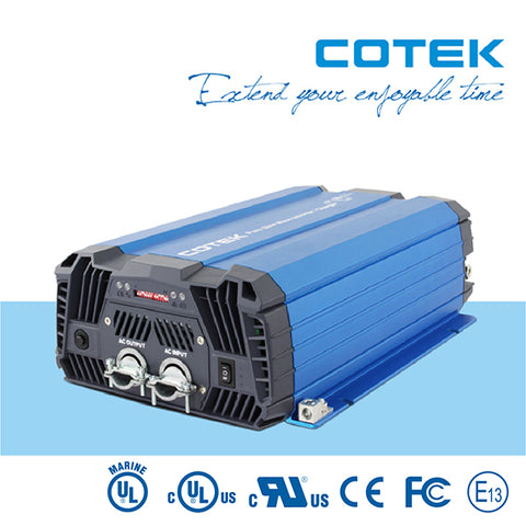 Cotek SC-2000 (2000W) High Frequency Pure Sine Wave Inverter / Charger