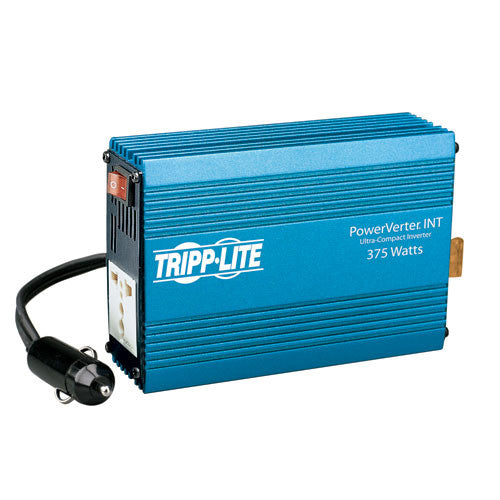 Tripplite PVINT375 375W PowerVerter Ultra-Compact Car Inverter with 1 Universal 230V 50Hz Outlet