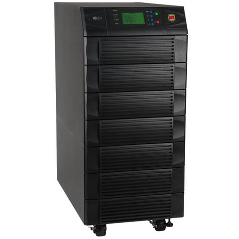 Tripplite SU20KX SmartOnline 20kVA 16kW Modular 3-Phase UPS System, Double-Conversion UPS, SNMPWEBCARD Option, DB9 Serial