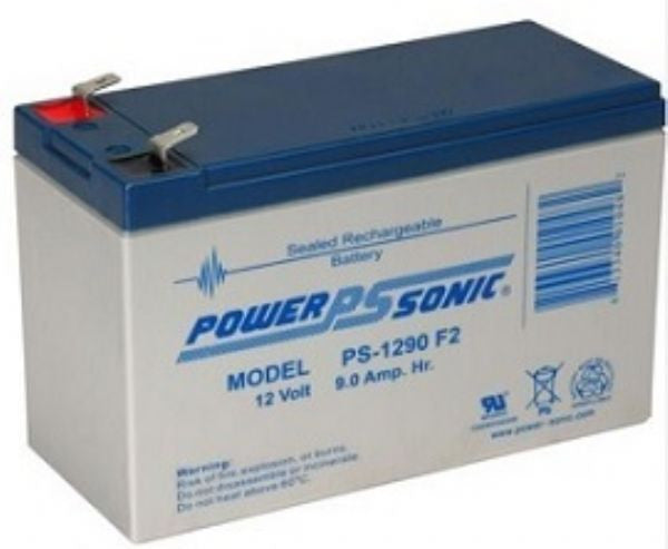 PowerSonic 12v 9Ah F2 UPS/General Purpose Battery