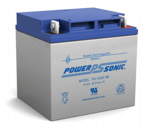 PowerSonic 12V 40Ah General Purpose Battery