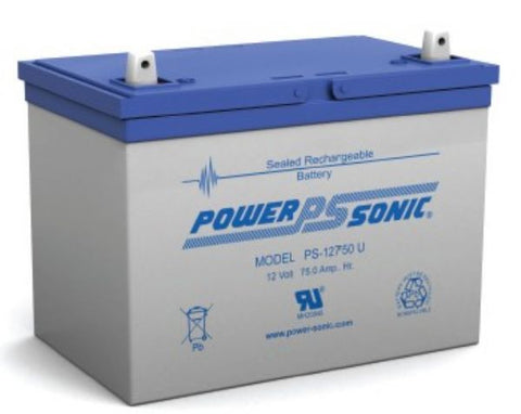 PowerSonic 12v 75Ah General Purpose/UPS battery