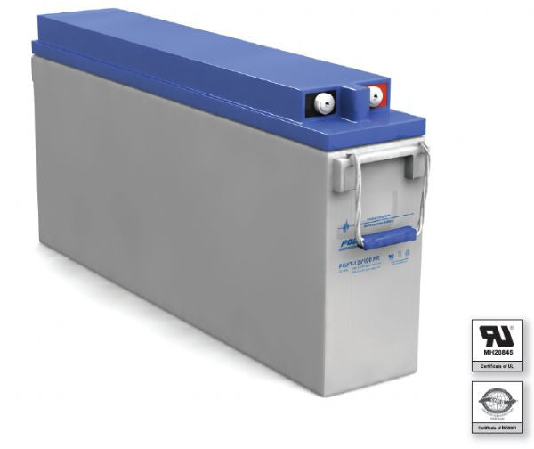 PowerSonic Front Terminal 12V 100AH SLA Battery
