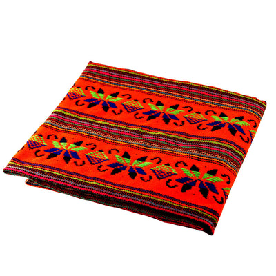 Mexican embroidered fabric, Tela mexicana, Taco fiesta decorations,