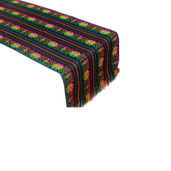 Fiesta decoration, Mexican Table runner 14x72 Inches,