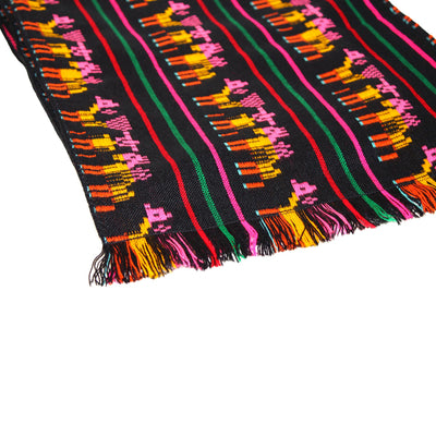 Black and Yellow Mexican Table runners 14x118""