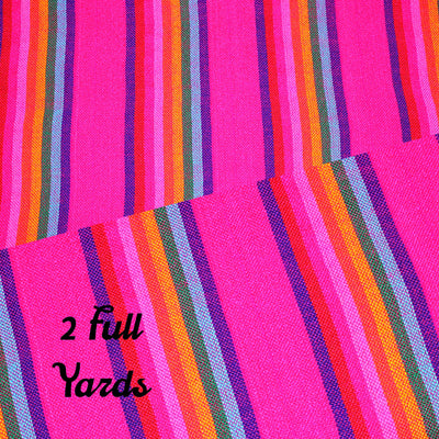 2 Yards, Authentic Mexican Fabric, Fiesta decorations, Traditional mexican fabric, Fiesta birthday.