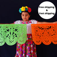Mexican Banners Large Papel Picado 80ft ws100a