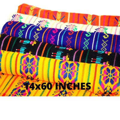 5 Pack Fiesta Table Runners 14x60 Inches, Fiesta decoration,