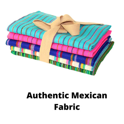 Mexican Fabric by the half yard, Boho Fabric half yards