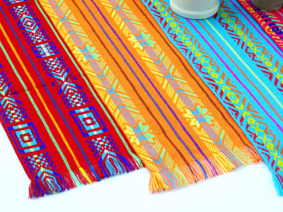 Mexican Table runners, 5 Pack Cinco de Mayo Table Runners, Fiesta decoration, 1472TRCB1