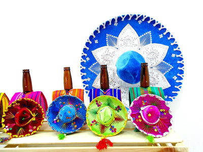 Authentic MINI Sombreros, Mexican decorative hats, Cinco de Mayo