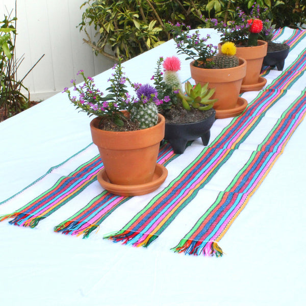 Mexican Table runner, 14X60 Inches