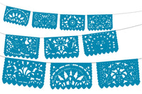 Papel picado, Mexican banner, 12 Feet long banner, Fiesta Decorations Garland, SB8