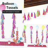 Fiesta Tassel Garland, Balloon Tails Set of 5 TAS05