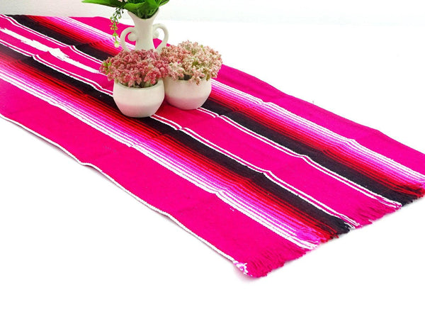 Fiesta table runner 14x60 Inches, Colorful Table runner.