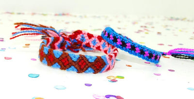Mexican Bracelets - Friendship Bracelet, Hippie Bracelet, Mexico Embroidered, Embroidered Mexican.