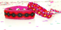 Mexican Fabric - Hippie Bracelet, Friendship Bracelet, Ethnic Jewerly.