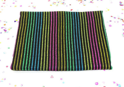 Mexican Fabric - Mexican Striped Fabric, Serape Zerape Sarape, Tela Mexicana.