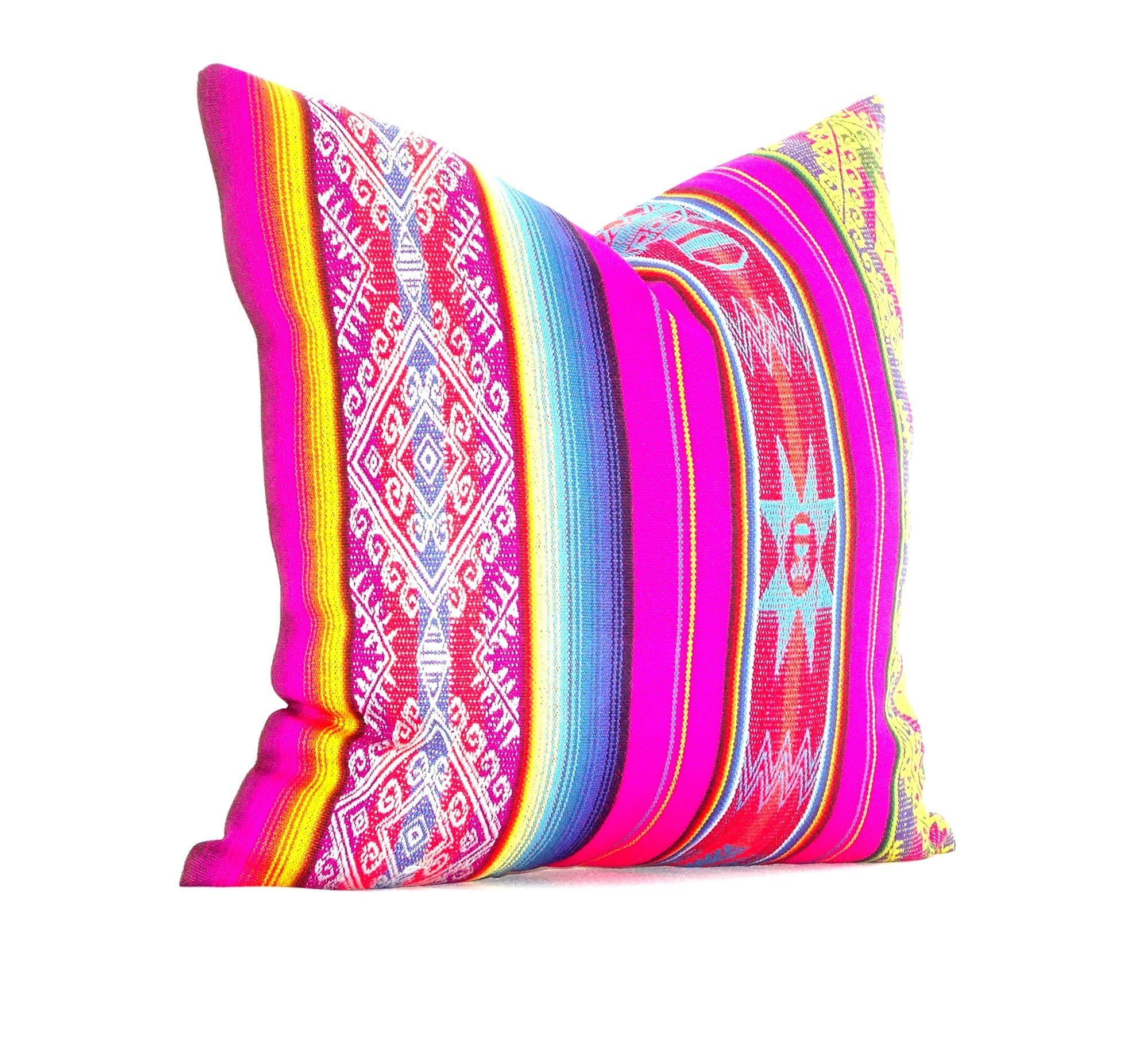 mexican pillow cover  mexican cushion cover x inches mexican fiestabohemian gypsy décor. mexican cushion cover x inches mexican fiesta bohemian gypsy