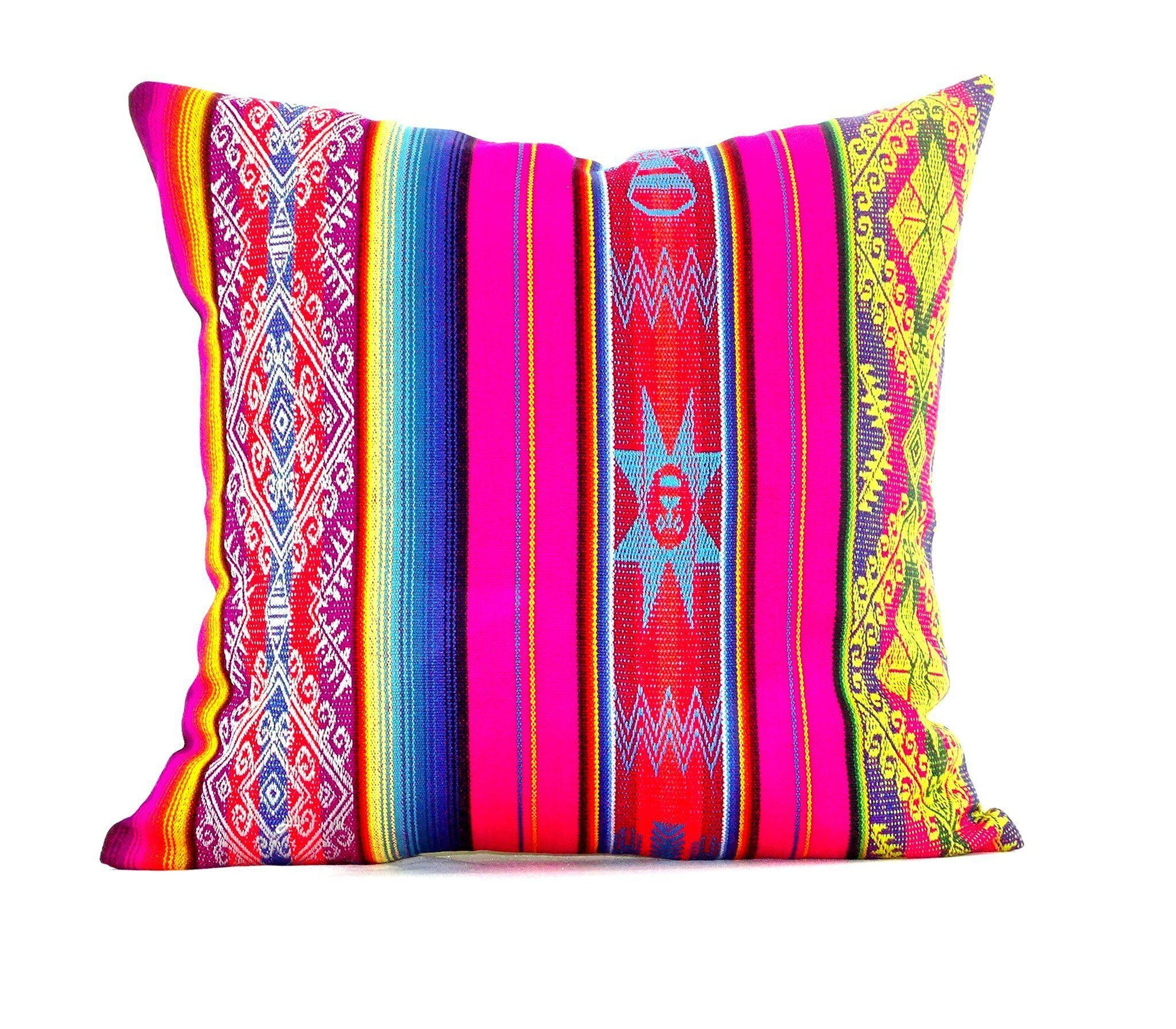 Mexican cushion cover 15x15 Inches Mexican fiesta, Bohemian gypsy ...