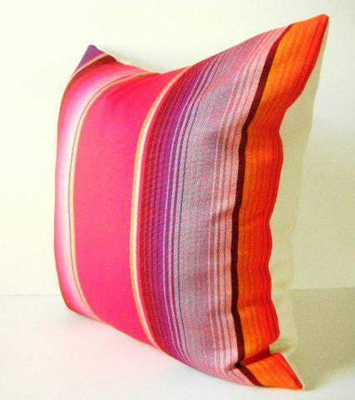 Mexican Pillow Cover - Mexican Pillow Covers 20 X 20 Inch Aztec Throws Serape - Available In 3 Colors!