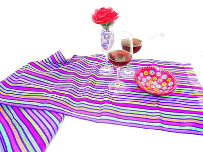 Mexican Table Runner - Aztec Fabric, Mexican Table Runner, Mexican Table Decorations, Mexican Themed Wedding, Mexican Dinner Party Decorations.