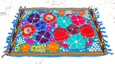 Mexican Table Runner - Fiesta Table, Wedding Decor,Engagement Party, Fiesta Decoration, Taco Party Decor, Center Piece.