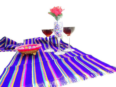Mexican Table Runner - Mexican Table Runner, Mexican Table Decorations, Mexican Themed Wedding, Mexican Dinner Party Decorations, Aztec Fabric, Bohemian Chic.