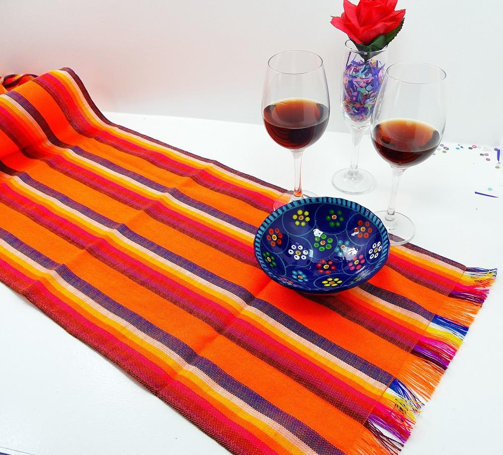 Ordinaire Mexican Table Runner   Mexican Table Runner, Tela Mexicana, Mexican Fiesta  Party, Aztec