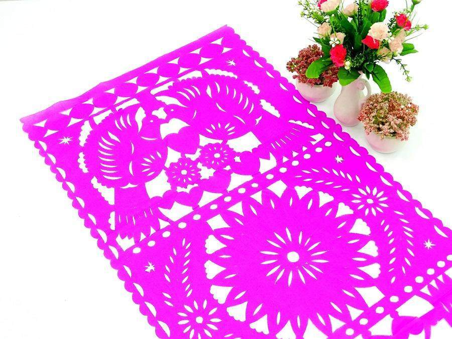 Papel Picado - Papel Picado Paper Table Runners In 9 Colors