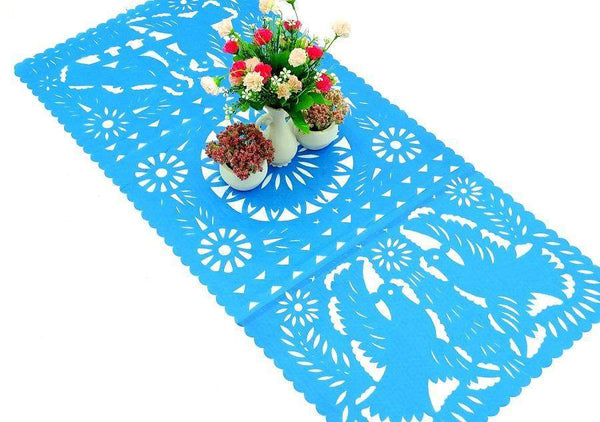 Papel Picado Paper Table Runner 20 Quot X 39 Quot In 10 Colors Mexfabricsupplies