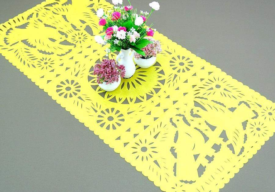 Papel Picado   Papel Picado Paper Table Runners In 9 Colors
