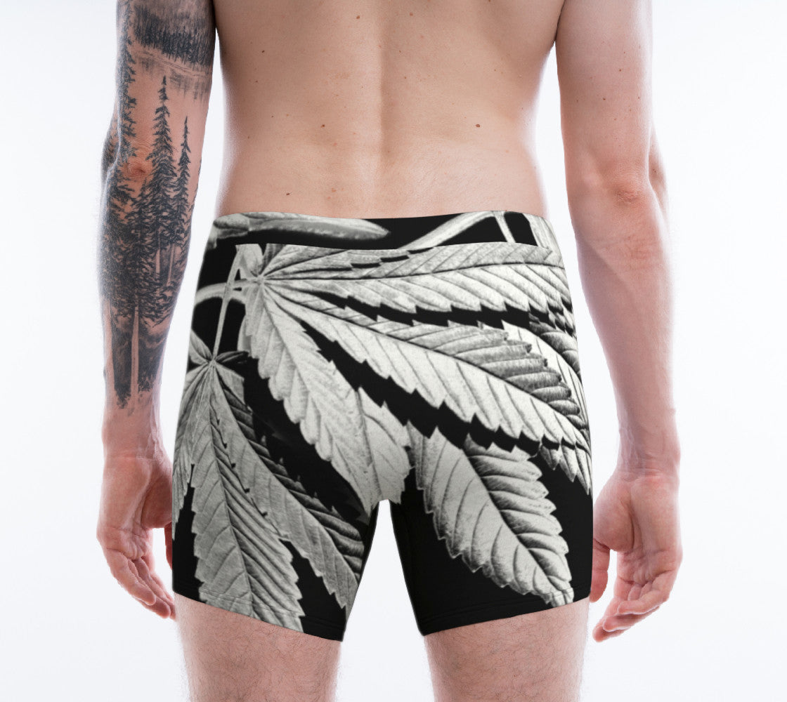 FILM NOIR CANNA LEAF // BOXER BRIEFS