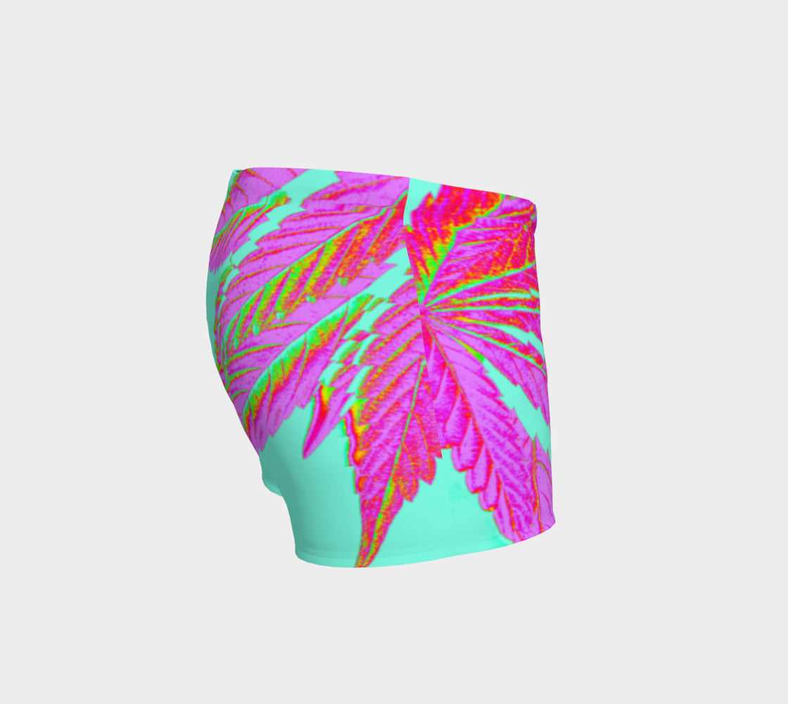 TROPI-CANNA LEAF // PERFORMANCE SHORTS