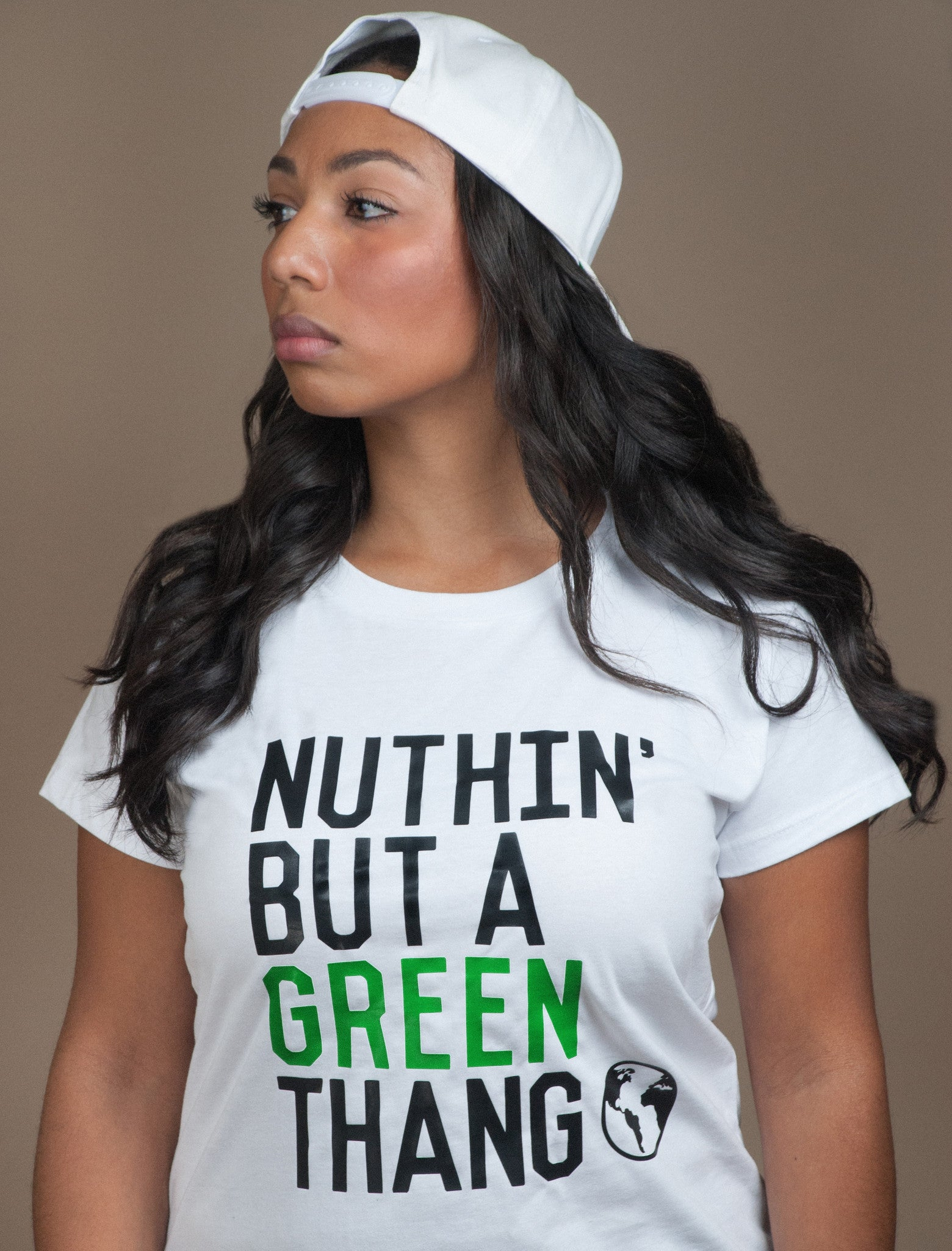 NUTHIN' BUT A GREEN THANG // CAP SLEEVE TEE