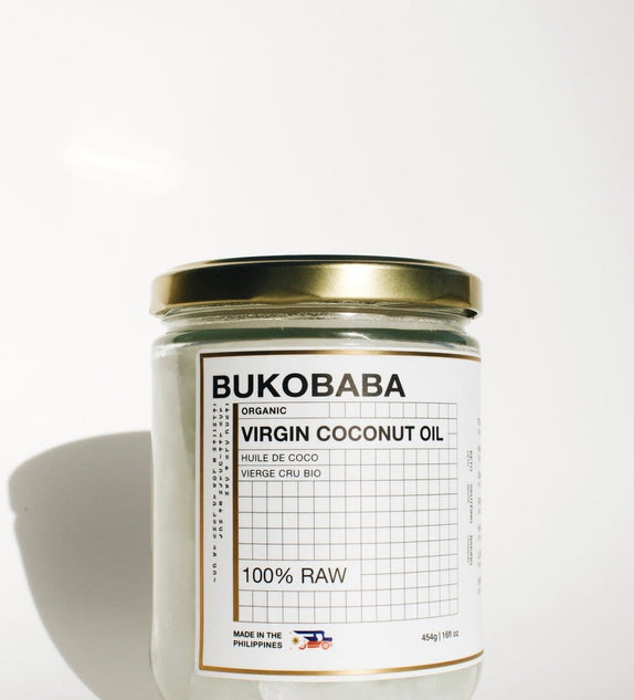 BUKOBABA 100% RAW ORGANIC VIRGIN COCONUT OIL