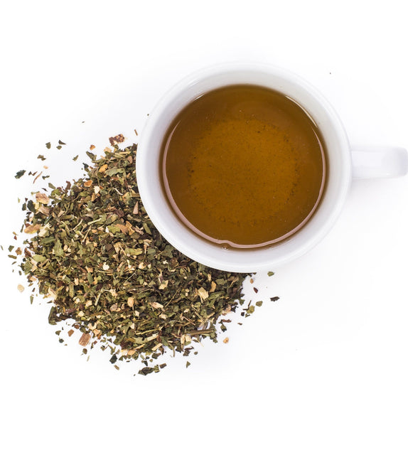 Detox tea is our most popular blend! This tisane supports proper liver, gallbladder, intestine and colon function. Its an overall body cleanser and strengthener. These herbs are safe to drink daily, and support regularity in a healthy way.   Drink first thing in the morning on an empty stomach for best results.  Flavor profile: Peppermint, Licorice root. Mint forward, sweet finish.  Detox is caffiene free making it enjoyable at any time of the day.  Ingredients: Organic Peppermint, Organic Nettle, Organic D